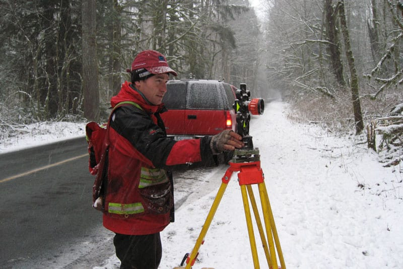 Winter Surveying Health and Safety