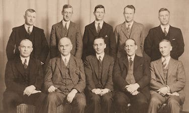 Corporation of BC Land Surveyors - 1935 Executive