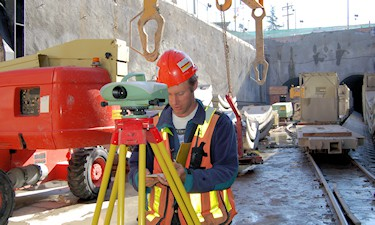 Precise levelling for the control survey of the Canada Line False Creek Tunnel. T. Hill, 2006.