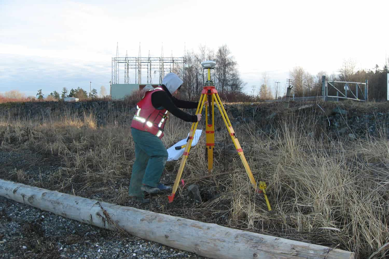 Underhill - BC Hydro Right of way mapping