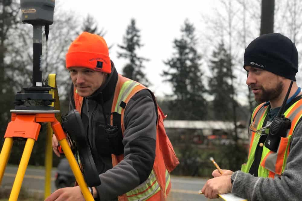 BC Surveyors at Work